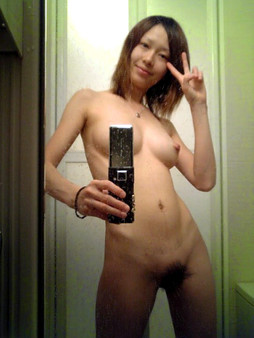 Asian teen nude selfies, japanese..