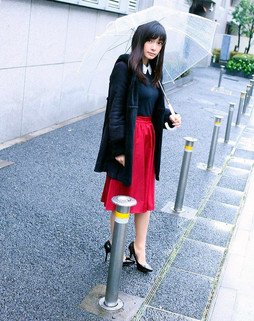 Young japanese model Erica Tonooka in..