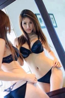 Hot asian coeds dressed like models..