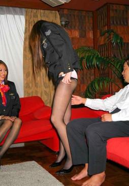 Sexy Asian Stewardesses