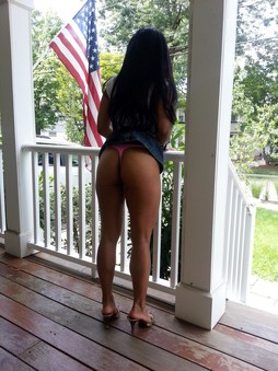 Nude asian ass and upskirt outdoor..
