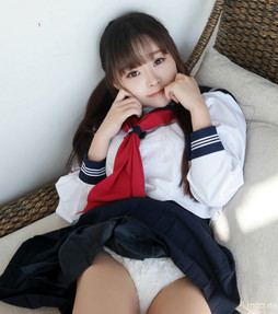 Candid photo shoot in school uniform,..